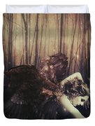 Forest Angel Duvet Cover