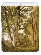 Forest At Fontainebleau Duvet Cover