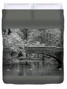 Forest Bridge Duvet Cover
