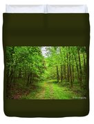 Forest Byway Duvet Cover