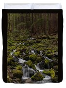 Forest Cathederal Duvet Cover by Mike Reid