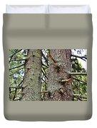Forest Corrosion Bark Duvet Cover