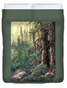 Forest Deep Duvet Cover
