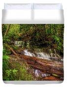 Forest Falls Duvet Cover
