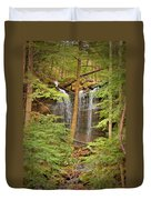 Forest Falls Duvet Cover