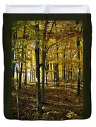 Forest Floor One Duvet Cover