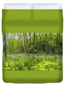 Forest Floor Dame's Rocket Duvet Cover