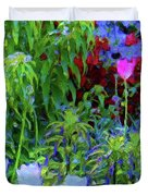 Forest Flowers Different One Duvet Cover