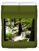 Forest Flows Duvet Cover