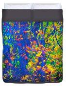 Forest Foliage Art Duvet Cover