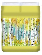 Forest For The Trees Duvet Cover