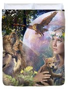 Forest Friends 2 Duvet Cover