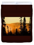 Forest Glow Duvet Cover