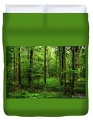 Forest Greenery Duvet Cover