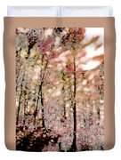 Forest In Autumn Duvet Cover