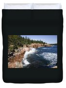Forest Meets The Sea Duvet Cover