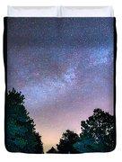 Forest Night Light Duvet Cover