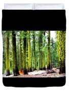 Forest Of The Crossroads Duvet Cover
