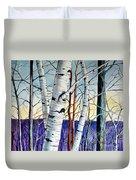 Forest Of Trees Duvet Cover