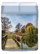 Forest Park Columns 2 Duvet Cover