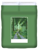 Forest Path 2 Duvet Cover