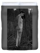 Forest Nude Duvet Cover