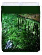 Forest Reflection Duvet Cover
