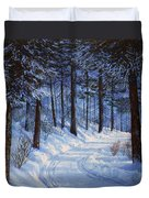 Forest Road Duvet Cover
