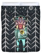 Forest Spirit, Forest Keeper Duvet Cover