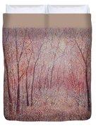 Forest Stillness. Duvet Cover