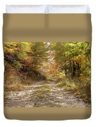 Forest Stone Path Duvet Cover