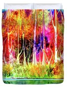Forest Stream Duvet Cover by Darren Cannell