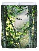 Forest Sunbeam Duvet Cover