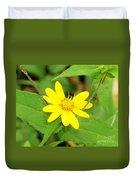 Forest Sunflower Duvet Cover