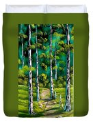 Forest Trail Duvet Cover