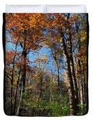 Forest Veteran Duvet Cover