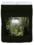 Forest View From Mt Tamalpais Duvet Cover
