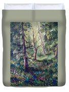 Forest Wildflowers Duvet Cover