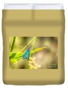 Forester Moth From Bulgaria Duvet Cover
