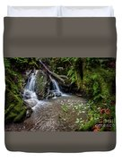 Forests Deep Duvet Cover