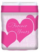 Forever Yours Duvet Cover