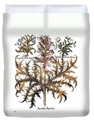 Forget-me-not & Acanthus Duvet Cover