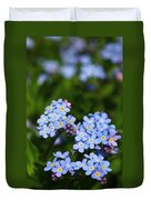 Forget Me Not 1 Duvet Cover