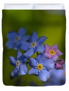 Forget Me Not 2 Duvet Cover