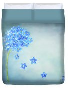 Forget-me-not Duvet Cover