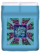 Forget Me Nots Fabric By Clothworks Duvet Cover