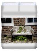 Forgotten Bench Duvet Cover