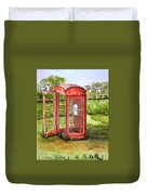 Forgotten Phone Booth Duvet Cover