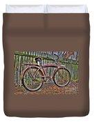 Forgotten Ride 1 Duvet Cover