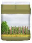 Forks Of Cypress Duvet Cover